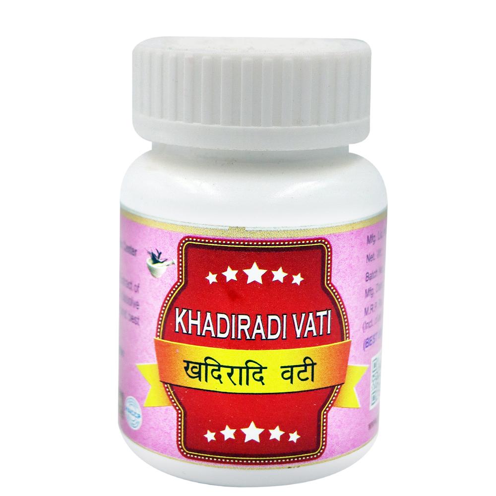 Khadiradi Vati (60Tab)